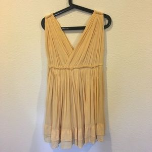 Mes Demoiselles Dresses - Mes Demoiselles Paris yellow mini dress
